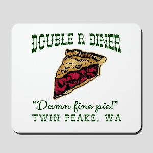 Twin Peaks Cherry Pie Diner Mousepad