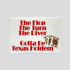 The Flop, The River, The Turn Magnets