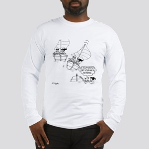 Sailing Cartoon 7510: Long Sleeve T-Shirt