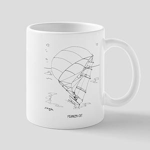 Catamaran Cartoon 7459 Mug