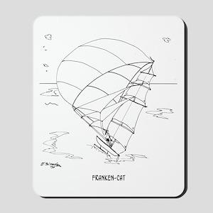 Catamaran Cartoon 7459 Mousepad