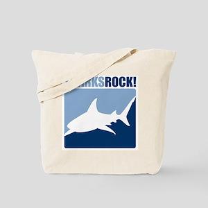 Sharks Rock! Tote Bag