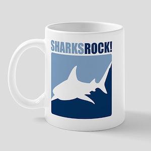 Sharks Rock! Mug