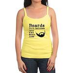 Beards: Laziness Into Awesomene Jr. Spaghetti Tank