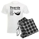 Beards: Laziness Into Awesome Men's Light Pajamas