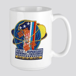 Year in Space Large Mug