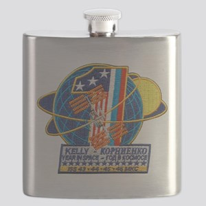 Year in Space Flask