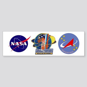 Year in Space Sticker (Bumper)
