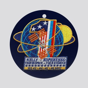 Year in Space Ornament (Round)