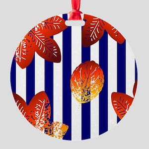 STRIPES Round Ornament