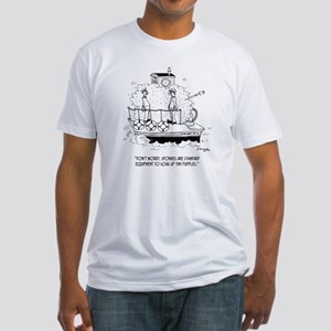 Boat Cartoon 5582 Fitted T-Shirt