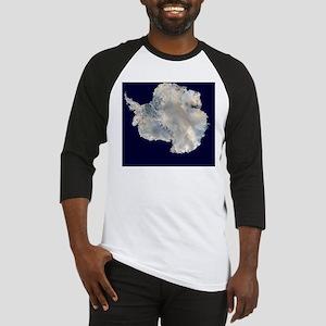 Antartica by NASA Baseball Jersey