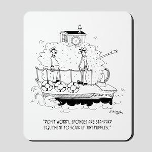 Boat Cartoon 5582 Mousepad