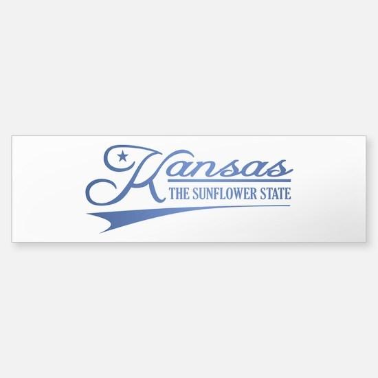 Kansas State of Mine Bumper Bumper Bumper Sticker