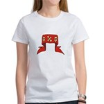 Skulls Red Banner Women's T-Shirt