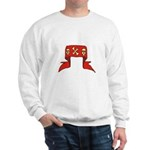 Skulls Red Banner Sweatshirt