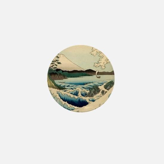 Japanese Vintage Art Sea of Satta Hiroshige Mini B