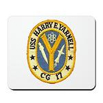 USS HARRY E. YARNELL Mousepad