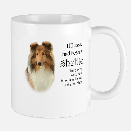 Timmy's Sheltie Stainless Steel Travel Mugs