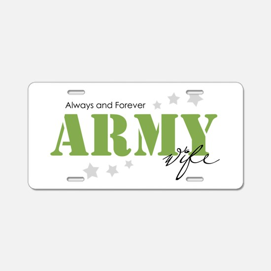 Funny Support troops Aluminum License Plate