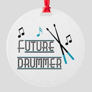 Future Drummer Ornament