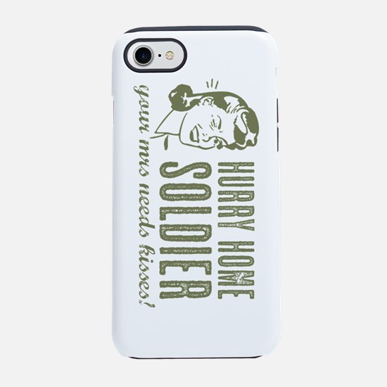 Hurry Home Soldier iPhone 7 Tough Case