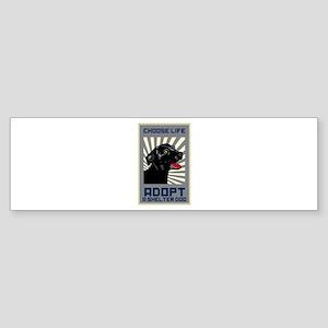 Choose Life Sticker (Bumper)