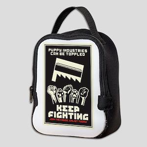 Keep Fighting Neoprene Lunch Bag