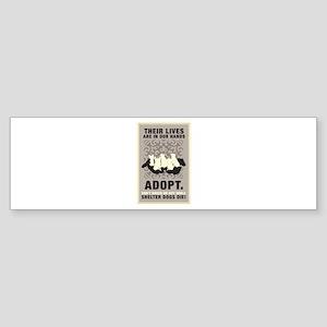 Don't Breed Or Buy Sticker (Bumper)