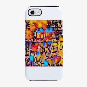 Graffiti Love iPhone 7 Tough Case