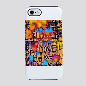Graffiti Love iPhone 7 Tough Case
