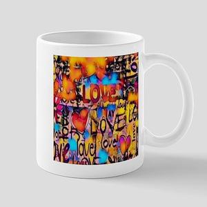 Graffiti Love Mugs
