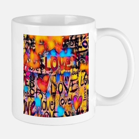 Graffiti Love Mugs
