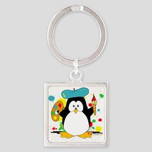 Artistic Penguin Keychains