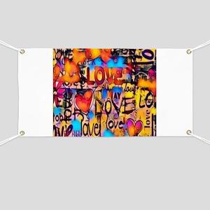 Graffiti Love Banner