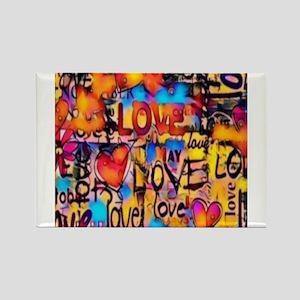 Graffiti Love Magnets