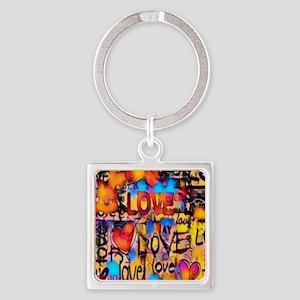 Graffiti Love Keychains