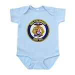 USS COLUMBUS Infant Bodysuit