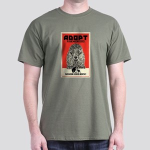 Senior Dogs Rock! Dark T-Shirt