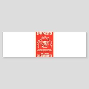 Spay/Neuter Sticker (Bumper)