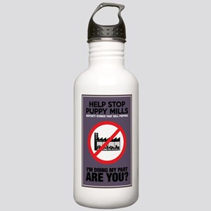 Stop Puppy Mills Stainless Water Bottle 1.0L