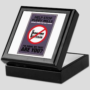 Stop Puppy Mills Keepsake Box