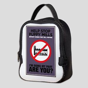 Stop Puppy Mills Neoprene Lunch Bag