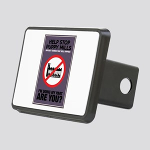 Stop Puppy Mills Rectangular Hitch Cover