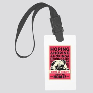 Have A Heart Large Luggage Tag