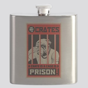 Say No To Crates Flask