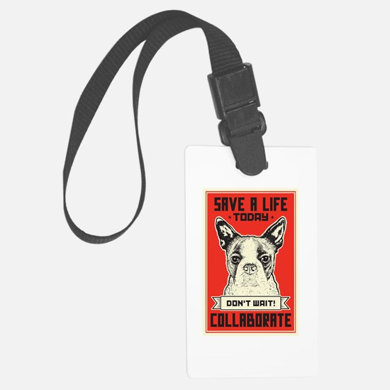 Save A Life Luggage Tag