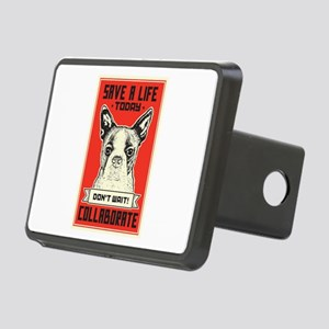 Save A Life Rectangular Hitch Cover