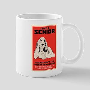 Love A Senior Dog Mug