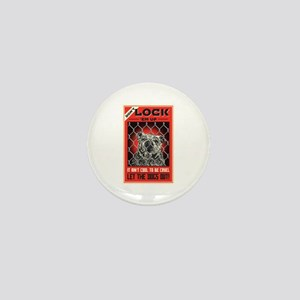 Let The Dogs Out Mini Button
